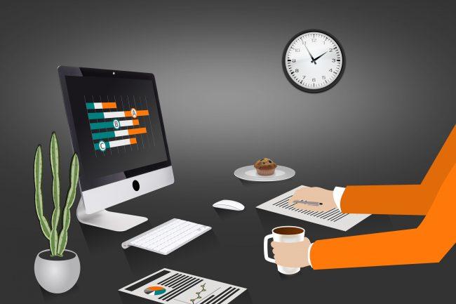 Project Management - Budget Planning - Illustration